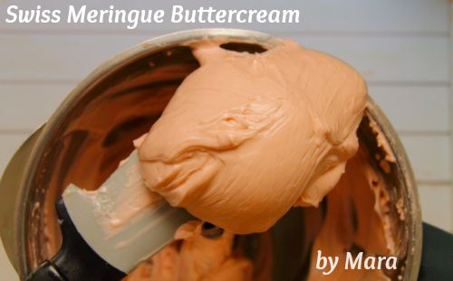 How to make Swiss Meringue Buttercream icing recipe for Thermomix