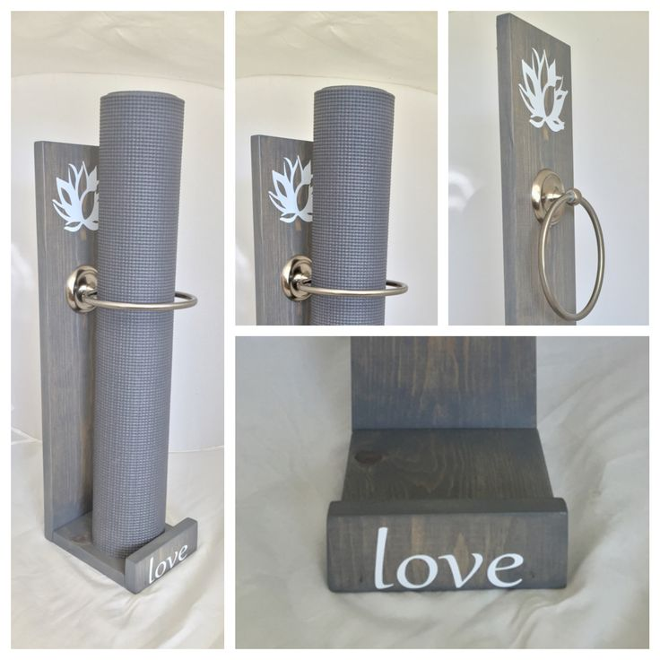 Let #yogawares make your custom yoga mat holder