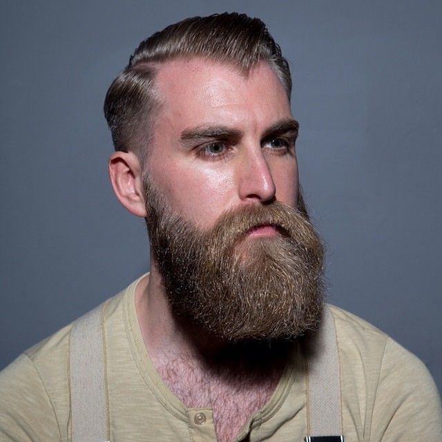 How to groom a big beard