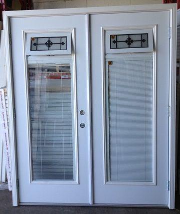 Venting Iron Art BBG Ultima Double Entrance Door