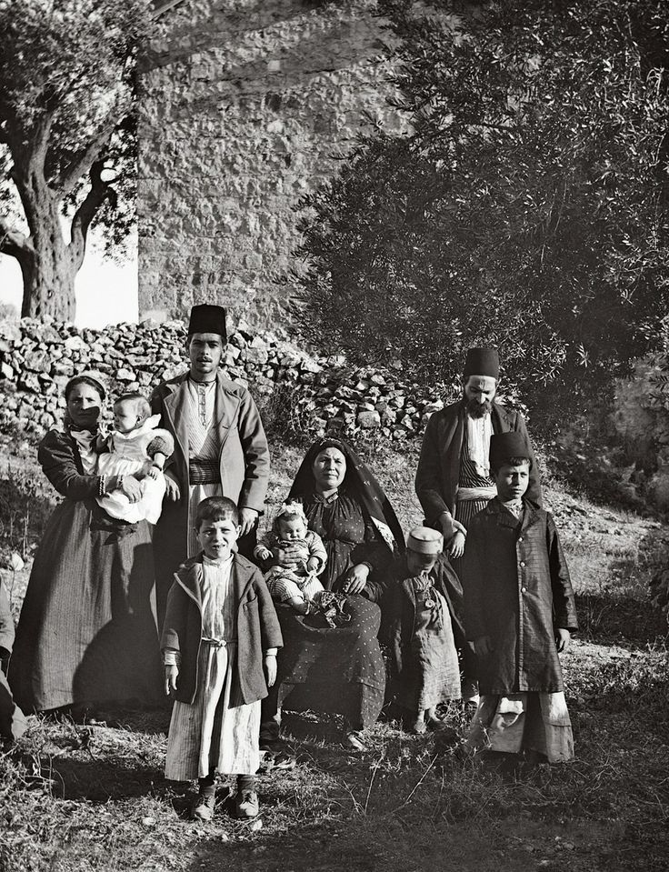 Group of Ashkenazi jews, Palestine