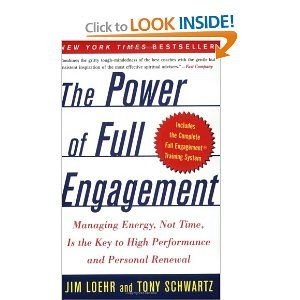 I always tell my clients it's about energy management, not just time management.