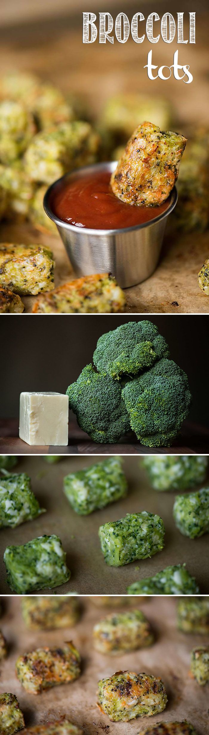 Since broccoli and cheese are one of life's great pairings, combine them into one low carb appetizer like these tasty Broccoli Tots!