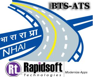 Rapidsoft Technologies, as a leading web & mobile application development company, has recently implemented billing and application submission procedures of National Highways Authority of India through Billing Tracking System (BTS) and Application Tracking Systems (ATS).