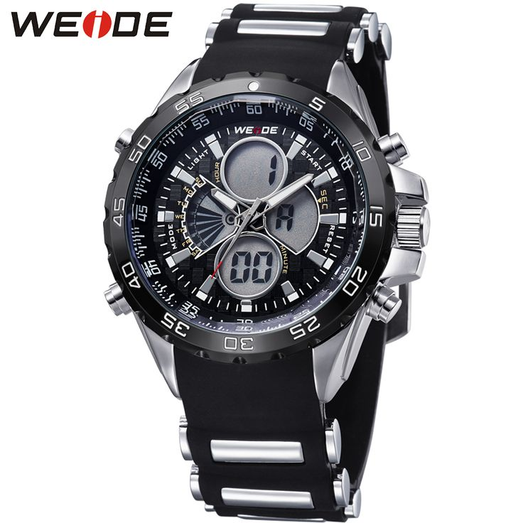 Analog Digital Black Watch Men Quartz 3ATM Waterproof Silicone Strap Fashion Military Watch Relogio Male Clock Gifts / WH1103     Tag a friend who would love this!     FREE Shipping Worldwide     Get it here ---> https://shoppingafter.com/products/analog-digital-black-watch-men-quartz-3atm-waterproof-silicone-strap-fashion-military-watch-relogio-male-clock-gifts-wh1103/