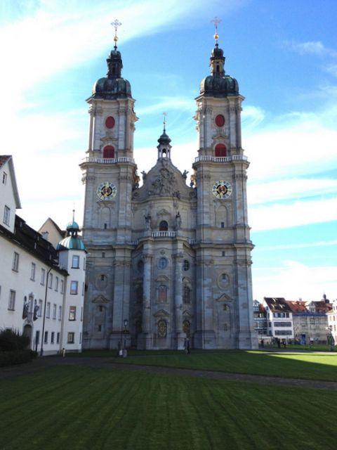 A lovely excursion to St Gallen, Switzerland. #switzerland #stgallen #familyexcursion #familyouting #outandabout