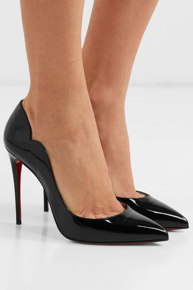 a813be316ed Christian Louboutin   Hot Chick 100 patent-leather pumps   NET-A ...