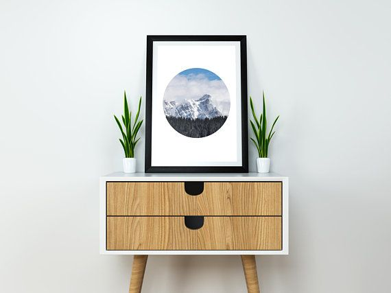 Details:  Winter Snowy Mountain Peak, Modern Nature Art printed on high quality fine art paper.  Print Sizes: ➤Cm: 15x20 cm, 20x30 cm, 30x45 cm, 40x60 cm ➤Inch: 6x8 / 8x12/ 12x18 / 16x23,5 Orientation: Portrait  Your original print will be made to order.   Depending on the size some