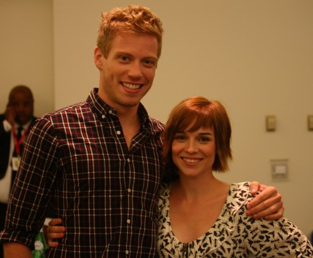 Barrett Foa and Renee Felice Smith as Eric and Nell from NCIS:LA