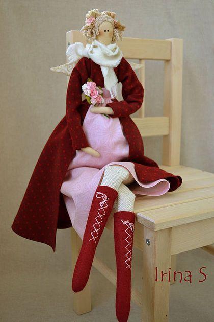 Куклы Тильды ручной работы. Ярмарка Мастеров - ручная работа В ожидании.... Handmade.