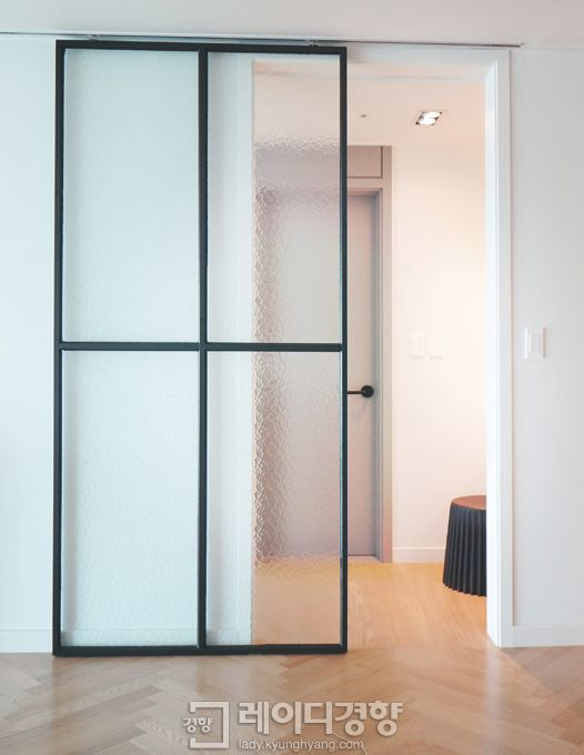 sliding door to the dressing room - example1