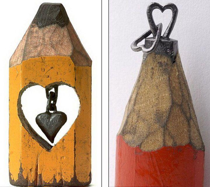 Un artiste sculpte des mines de crayons avec une précision incroyable pour réaliser des oeuvres minuscules