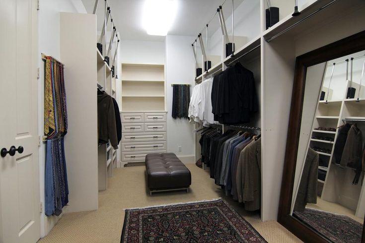 Closet Full Of Pull Down Hanging Rod Skl Pacia Atn Kov Ty