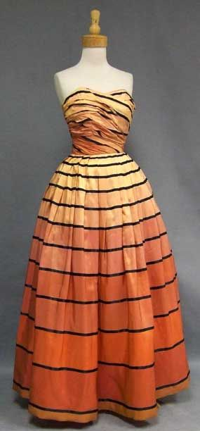 Charles James 1950's ball gown