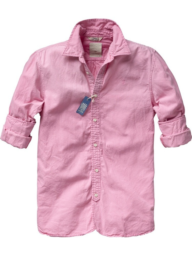Long-sleeved summer shirt from Scotch & Soda; € 75,95: Summer Shirts, A Mini-Saia Jeans, Clothing, Oxfords, Men'S Styles, Scotch Sodas, Products, Longsleev Summer, Long Sleeve Summer