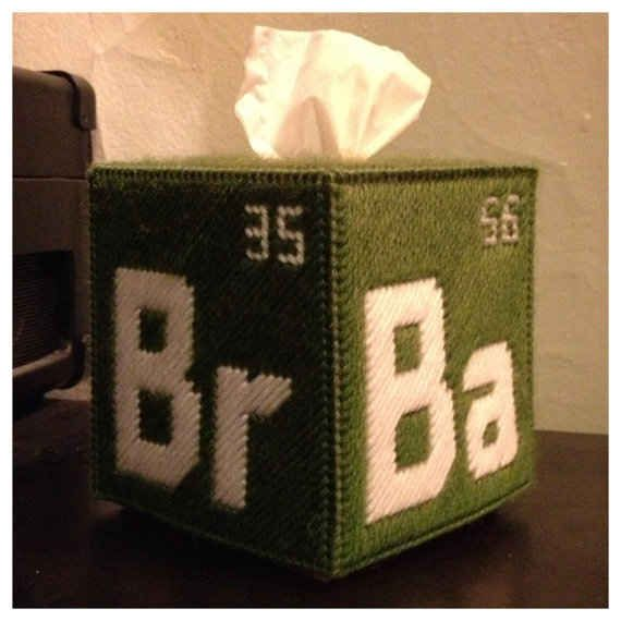 "This Breaking Bad tissue box for all your feels. | 26 Pieces Of ""Breaking Bad"" Paraphernalia You Can Buy On Etsy"