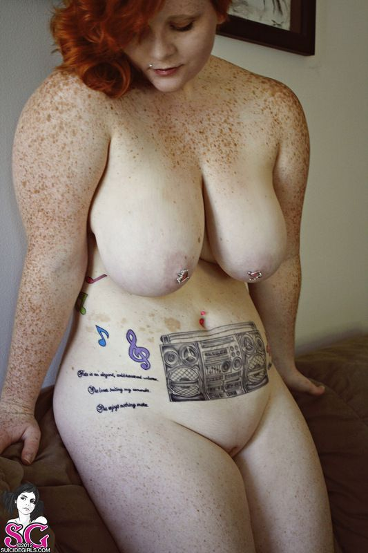 Fat freckled nude girls