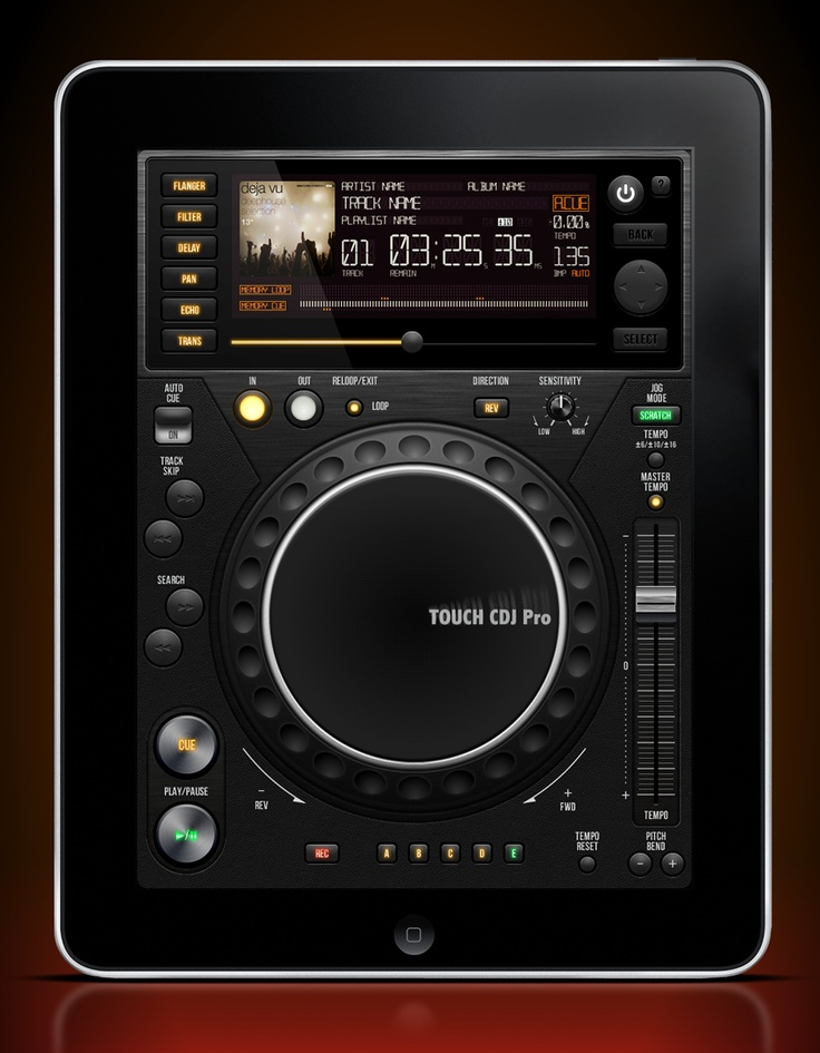 Inspiration  UI Elements  Freebies  Wallpapers  Photography  Creatives  Facebook  Twitter    Home / Mobile Interface  UI Touch CDJ Pro  10 Favorites 7583 ViewsNext Prev