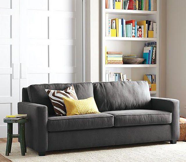 """nem preto, nem prata. a solução pra quem não quer """"pretejar"""" de vez… eu adorei e talvez seja a minha proxima cor de sofá…daqui a alguns anos né? pois os meus ainda estão nov…"""