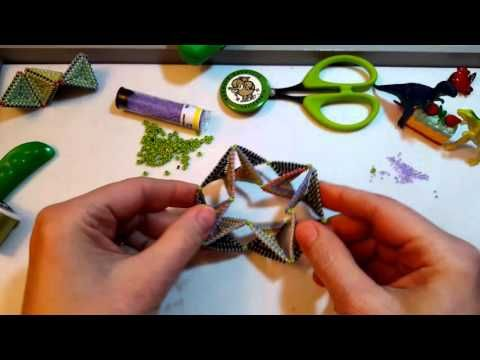 Contemporary Geometric Beadwork: BEADED MACHINES - YouTube