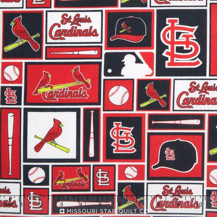 MLB Major League Baseball St. Louis Cardinals Block