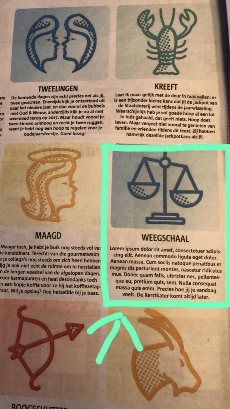 Lol! A Dutch newspaper (Metro) forgot to change the lorem ipsum text in the horoscope.. Im a libra (weegschaal) what will happen to me today?!