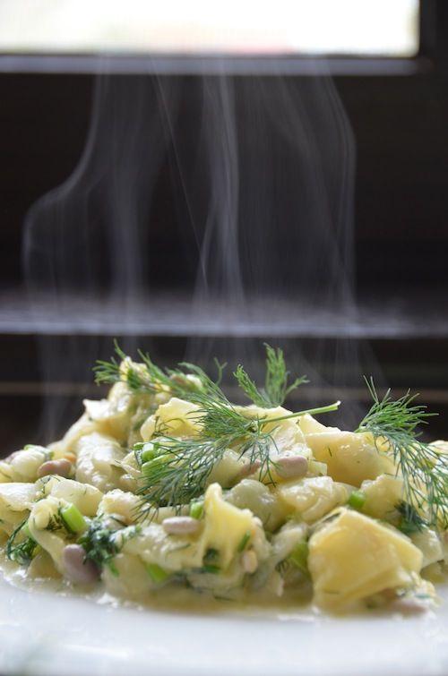 Pastai cu marar | Laura Cosoi  Ingrediente:  Pastai verzi fragede Usturoi verde Ceapa verde Marar Putin lapte 2 linguri ulei de masline