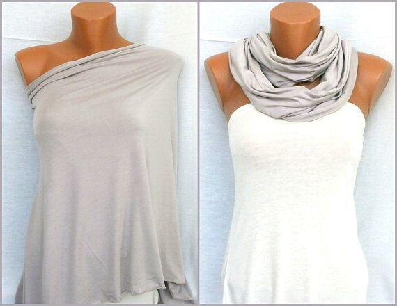 Nursing Cover Scarf Nursing Cover Infinity Scarf  by VesyScarves, $17.99
