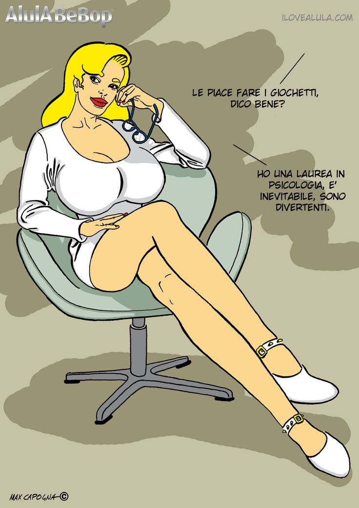AlulA BeBop - Basic instinct.  Big Boobs - Comics - Fumetti - Fetish - BDSM