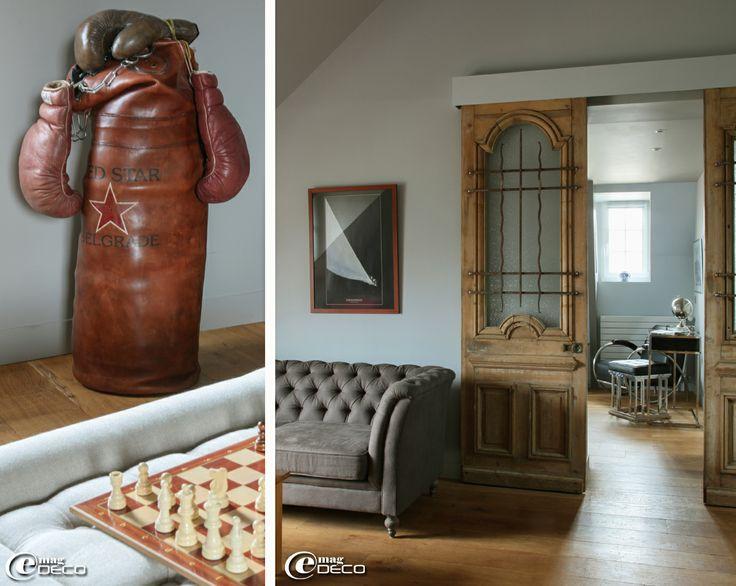 Les 18 meilleures images du tableau ranger des buches l for Decoration porte ancienne