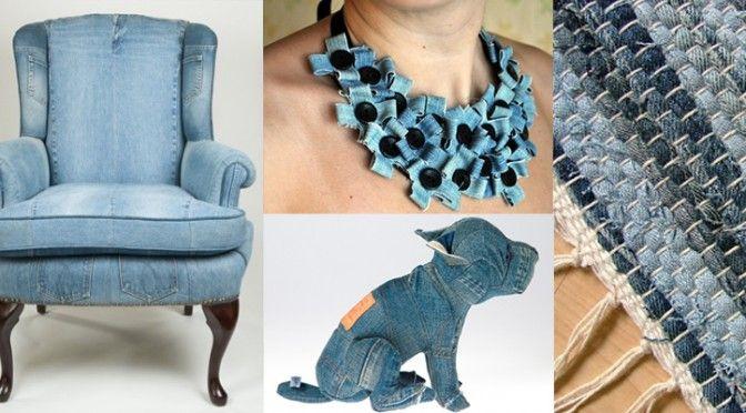 Upcycling: 20 saker att göra av jeans. Bloggen Re-creating.se (återbruk)
