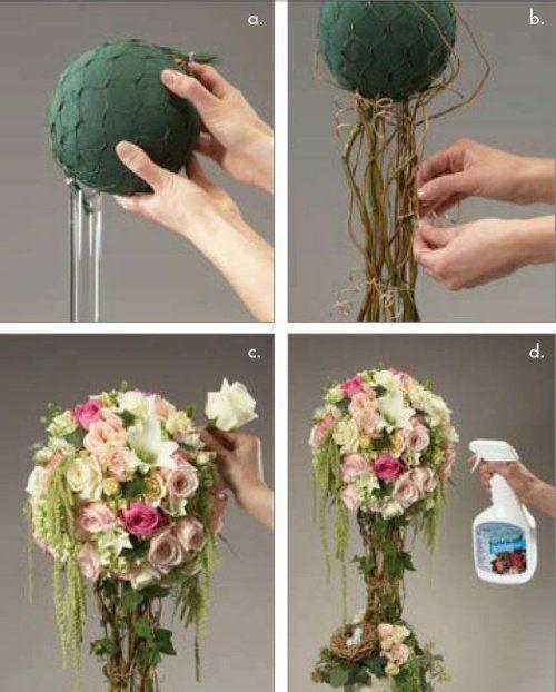 décoration florale de table  | La déco florale – quelques idées DIY pour vous inspirer