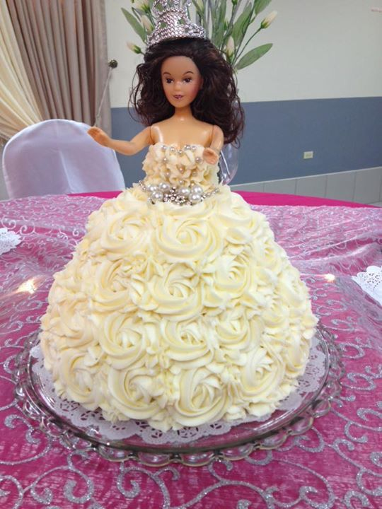 Barbie Cake.....Created by Splurge Follow us on Facebook https://www.facebook.com/pages/Splurge-Treat-Yourself/1471854443062956