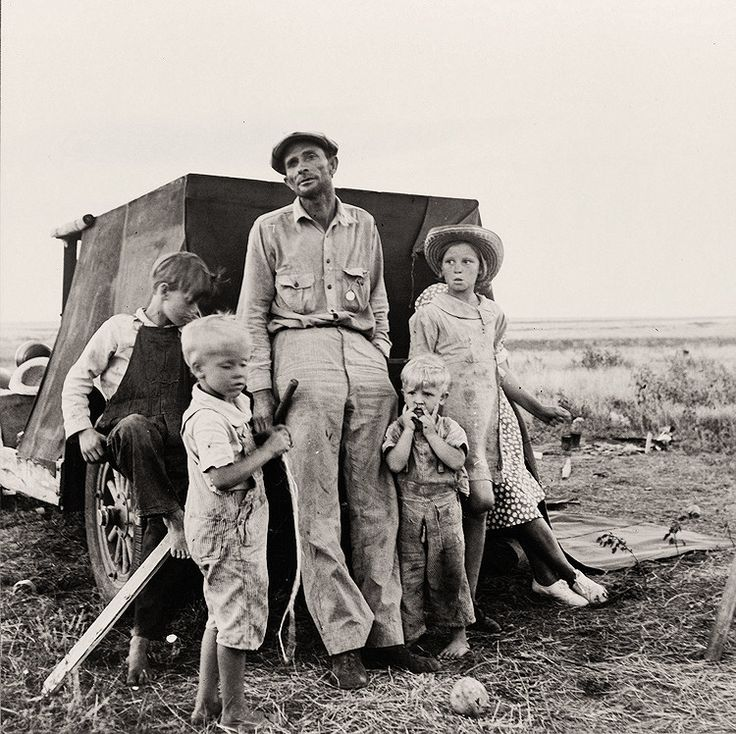 Dorothea Lange / ドロシア・ラング The History Place - Dorothea Lange Photo Gallery: Waiting for Work: Professional Migratory Laborer