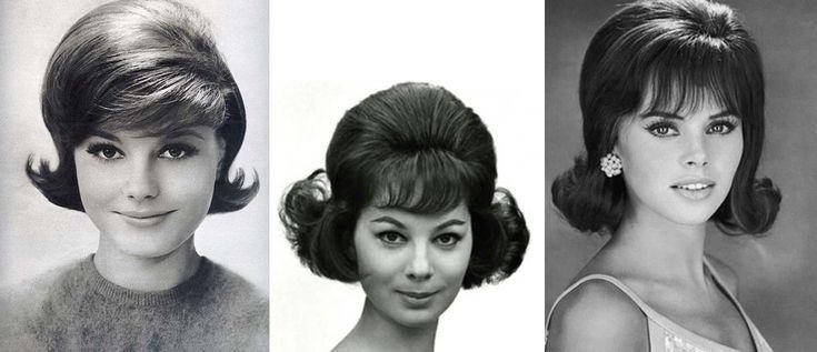 Прически 60-х женские фото