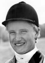 Canada's Elizabeth Ashton chosen for the equestrian team but did not compete in the boycotted 1980 M