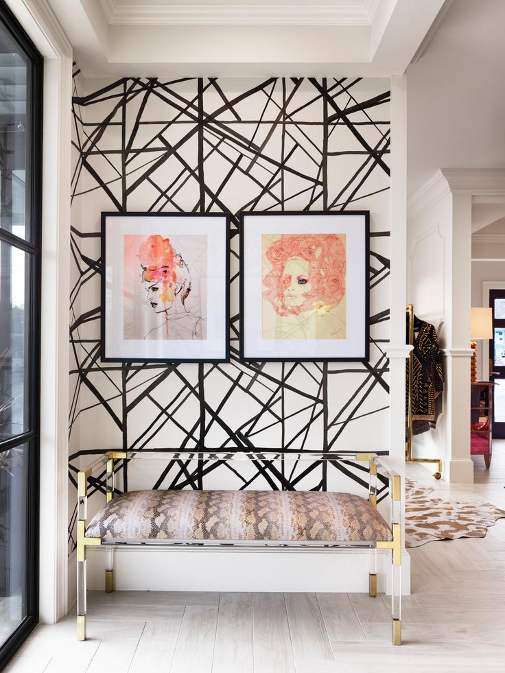 HGTV Fresh Faces of Design - Posh Public Spaces: Eclectic Art Deco Boutique by Heather Harkovich & Raquel Skrobarczyk >> http://www.hgtv.com/design/fresh-faces-of-design/2015/posh-public-spaces?soc=pinterest