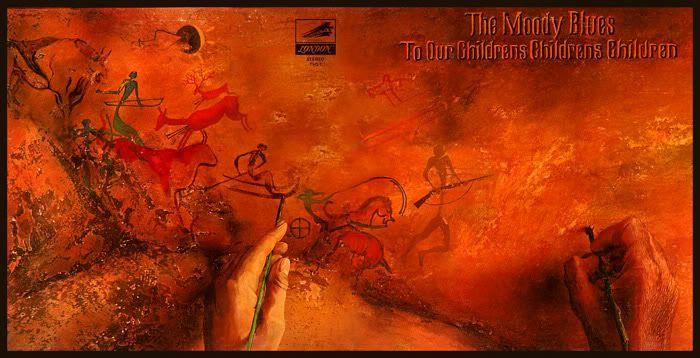 1986 The Moody Blues - To Our Children's Children's Children [Threshold 820364-2] artwork: Phil Travers #albumcover (full) #illustration