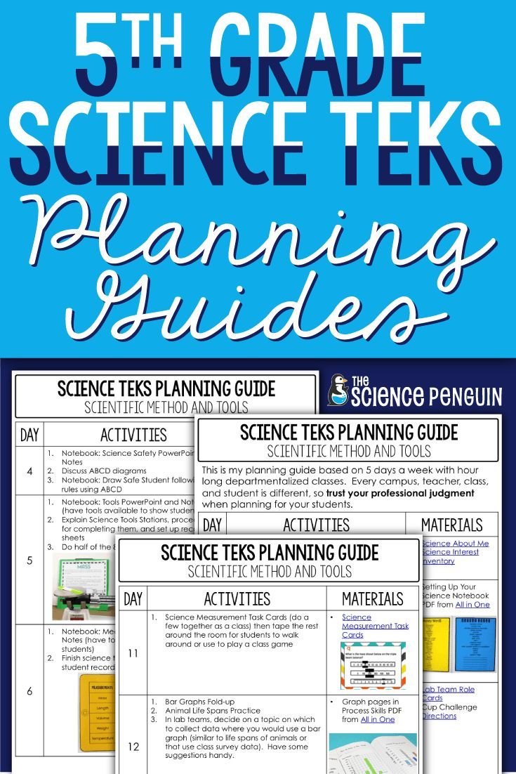 5th Grade Science TEKS Planning Guide: Our Solar System | FREE items