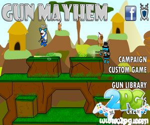 Gun Mayhem Unblocked – Take a part in the latest action shooting game – Gun Mayhem and enjoy unblocked version as well at school. Challenge your friends and have fun together