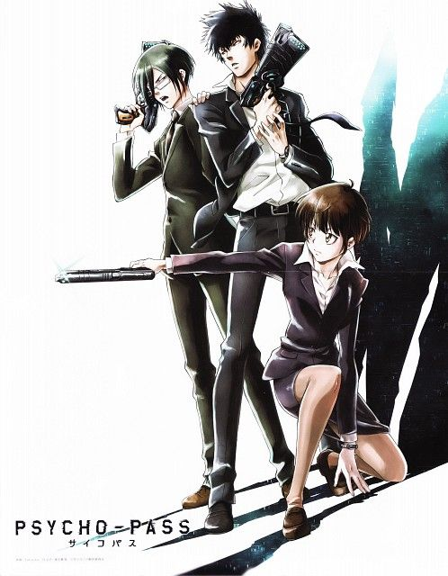 Akira Amano, Production I.G, PSYCHO-PASS, Ginoza Nobuchika, Shinya Kougami