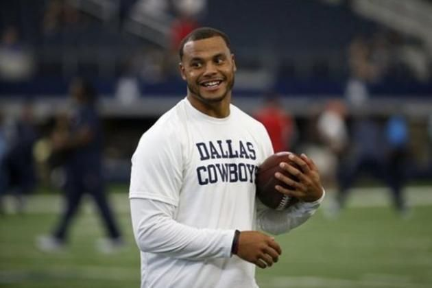 Dak Prescott Comments on Playing for Dallas Cowboys