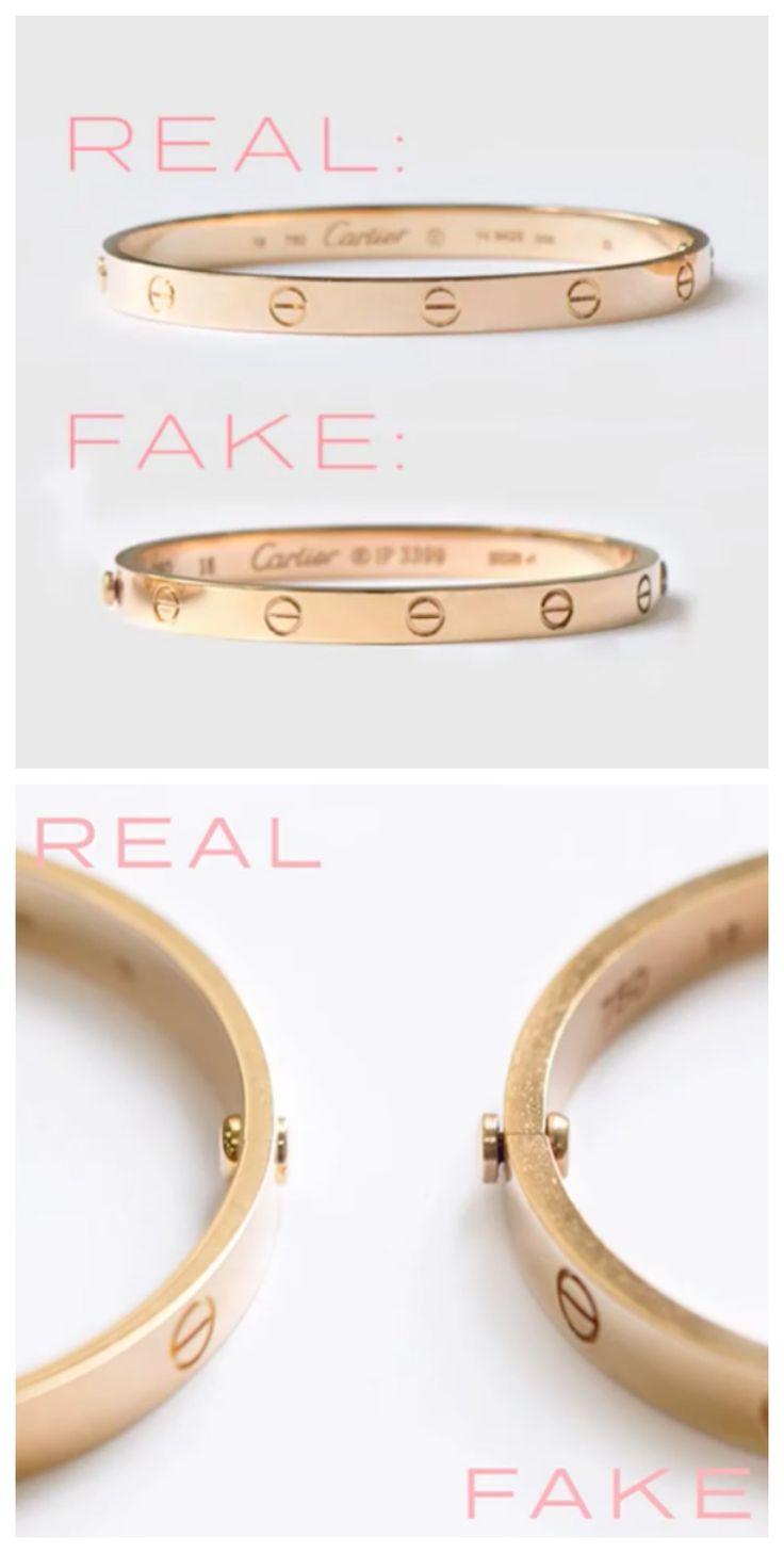 How to spot a fake cartier love bracelet love bracelets