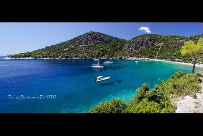 Meet Limnonari beach. The beach stands out for its turquoise waters and natural beauty, and it is definitely worth visiting 9.5 km from the town of Skopelos to visit it. Stay in Skopelos & enjoy summer http://www.imaginehotelsweb.com