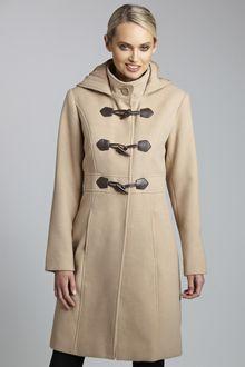 Capture Long Duffle Coat - from EziBuy