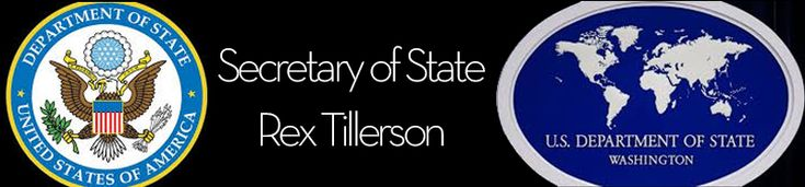"""Before we are employees of the U.S. Department of State, we are #human beings first. Let us extend respect to each other, especially when we may disagree. What I ask of you and what I demand of myself..."" #RexTillerson  Full remarks:"