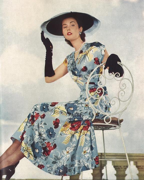 """""""Haslams"""" dress fabrics, 1952"""