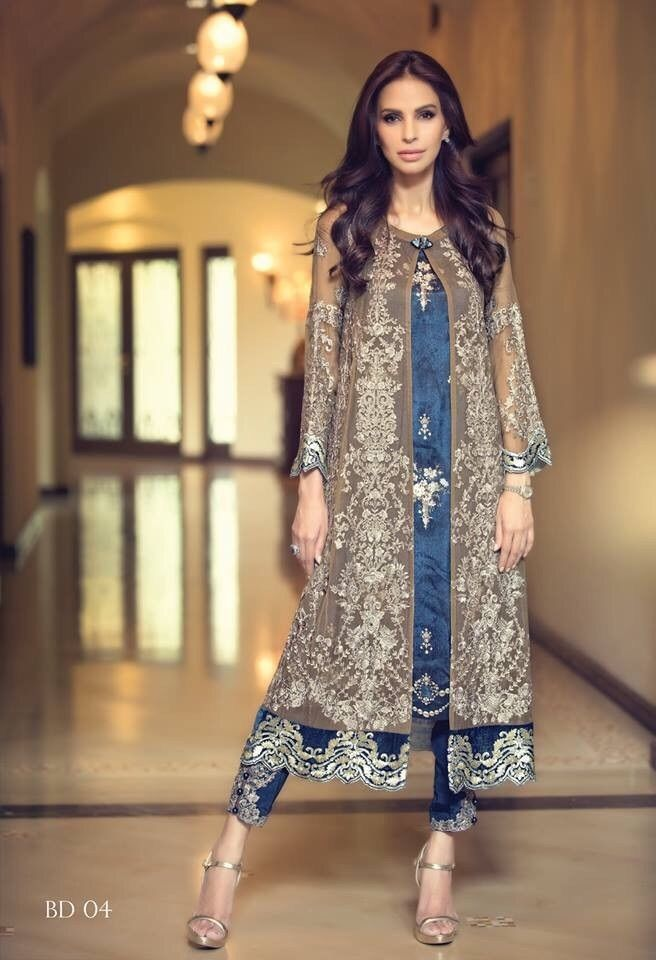 3 Anarkali Salwar Kameez Indian Bollywood Party Dress NewPakistani Punjabi Suit