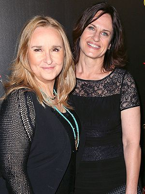 Melissa Etheridge Linda Wallem both 53, sharing a birthday are Newlyweds. June 2014. They are former best friends of 10 years. Wallem works on Nurse Jackie. He is also gay and plays the diabetic gay male nurse. Brain Fart forget the character's name but LOVE HIM & Nurse Jackie.