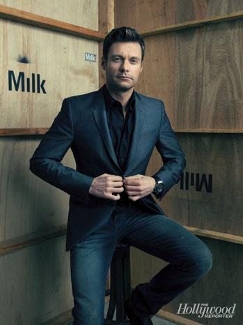 Ryan Seacrest is such a cutie and literally America's sweatheart (: